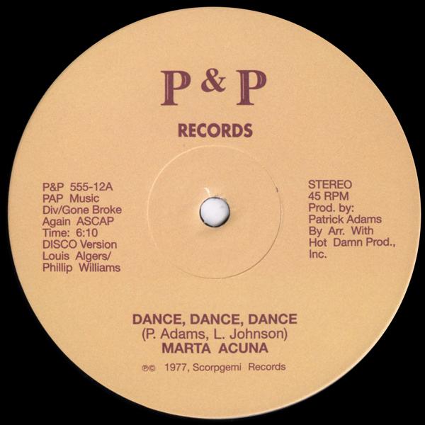 marta-acuna-dance-dance-dance-p-p-records-cover