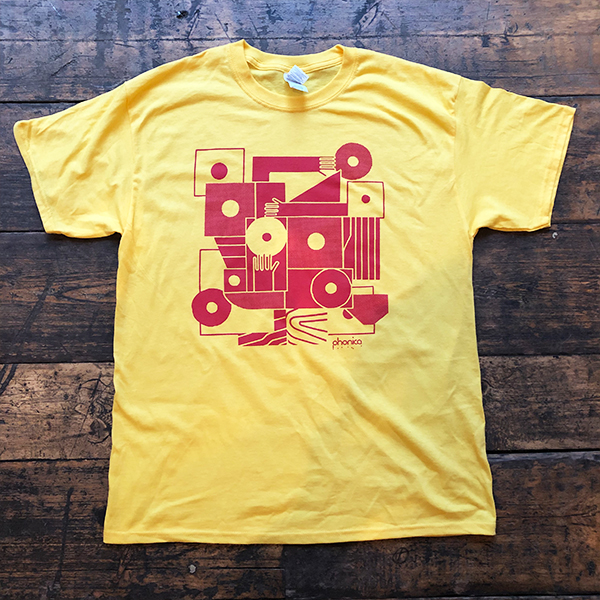 phonica-records-hands-and-sleeves-yellow-t-shirt-large-phonica-merchandise-cover
