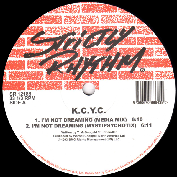 kcyc-im-not-dreaming-side-by-side-strictly-rhythm-cover