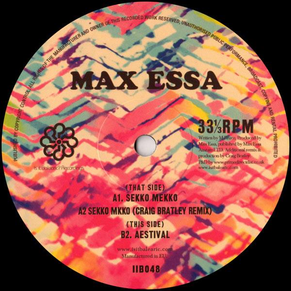 max-essa-sekko-mekko-aestival-craig-bratley-remix-is-it-balearic-cover