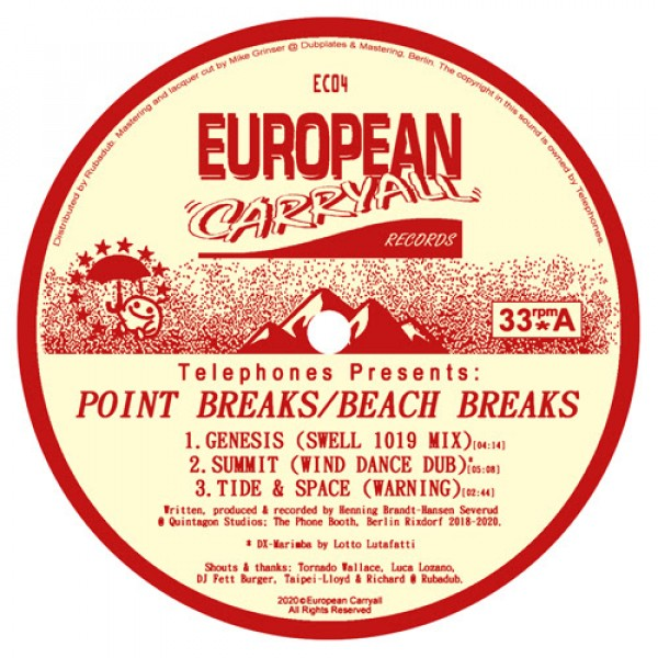 telephones-point-breaks-beach-breaks-european-carryall-cover