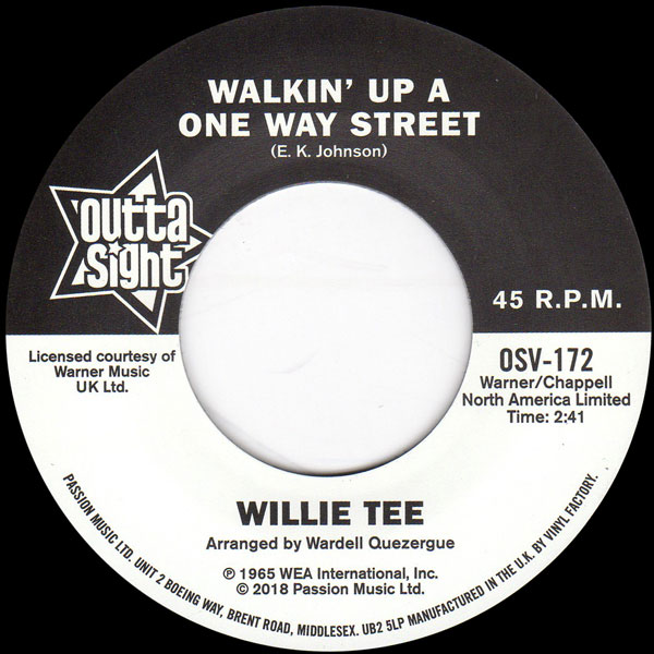 soul-brothers-six-willie-tee-walkin-up-a-one-way-street-ill-be-loving-you-outta-sight-cover
