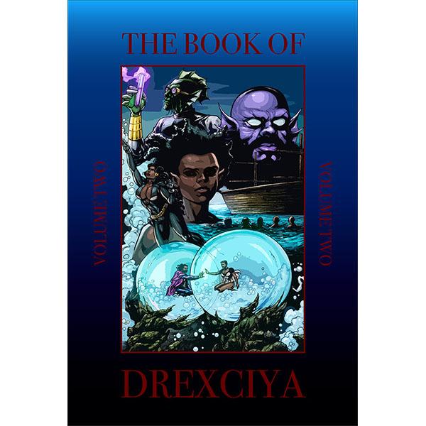 abdul-qadim-haqq-drexciya-the-book-of-drexciya-vol2-hardcover-version-tresor-cover