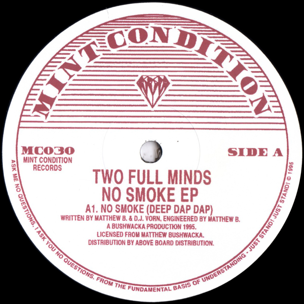 two-full-minds-no-smoke-ep-mint-condition-cover