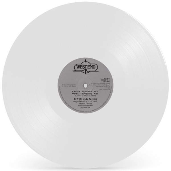bt-brenda-taylor-you-cant-have-your-cake-and-eat-it-too-white-vinyl-repress-west-end-records-cover