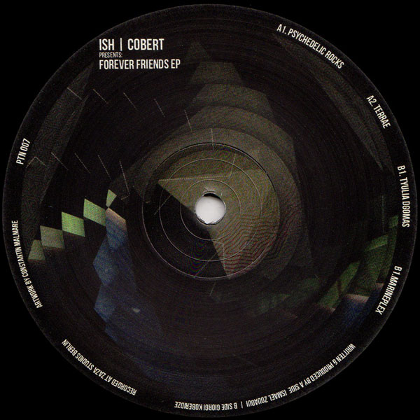 ish-cobert-forever-friends-ep-partisan-cover