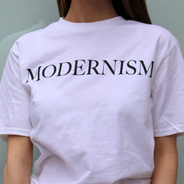 378a95e26 THE STORE/Modernism T Shirt White Small/THE STORE - Vinyl Records ...