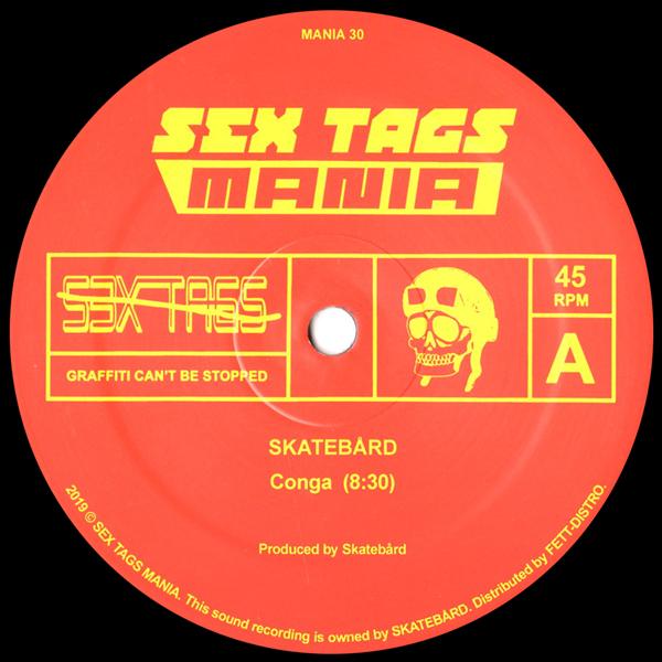 skatebard-conga-repress-pre-order-sex-tags-mania-cover