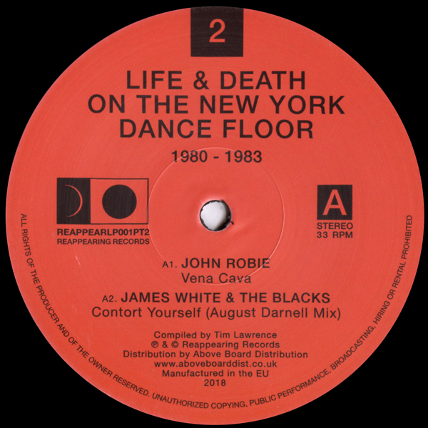 various-artists-life-death-on-a-new-york-dance-floor-part-2-lp-reappearing-records-cover