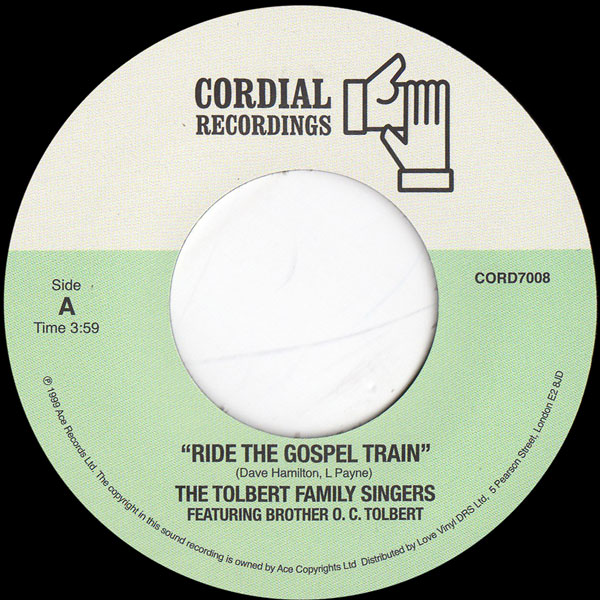 the-tolbert-family-singers-ride-the-gospel-train-give-it-to-glory-cordial-recordings-cover