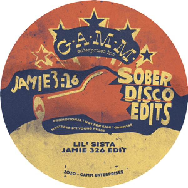 jamie-326-sober-disco-edits-gamm-records-cover
