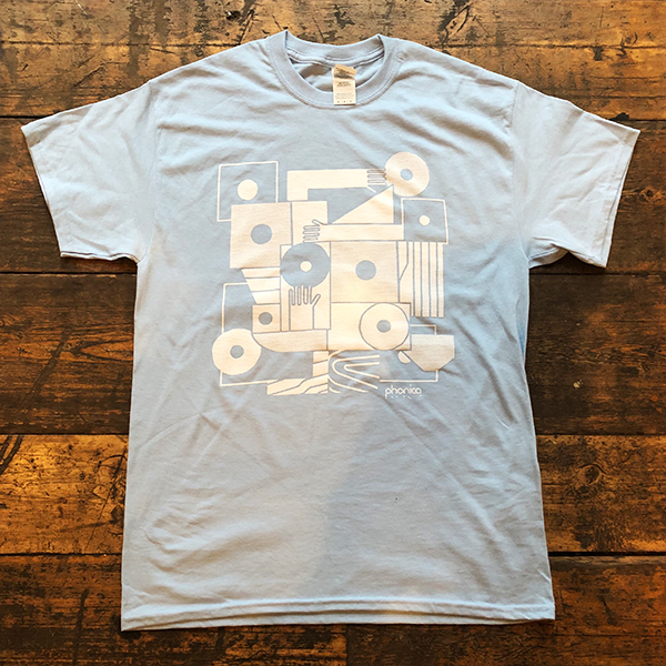 phonica-records-hands-and-sleeves-light-blue-t-shirt-medium-phonica-merchandise-cover