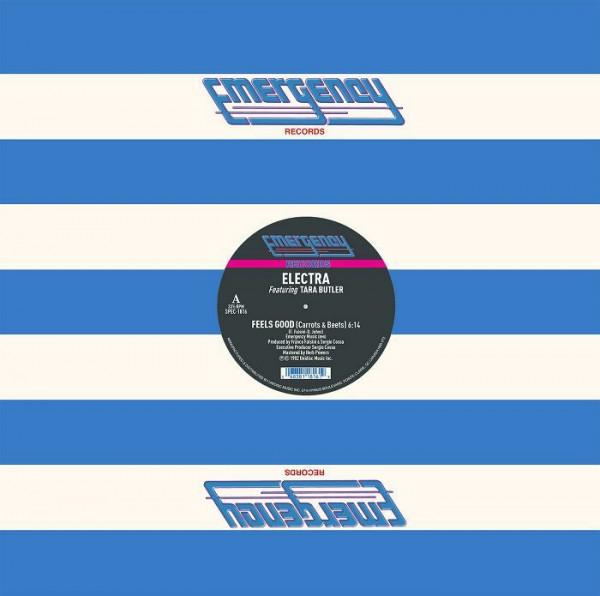 electra-ft-tara-butler-feels-good-carrots-beets-blue-vinyl-repress-unidisc-cover
