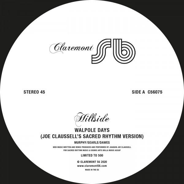 hillside-walpole-days-joe-claussell-remixes-pre-order-claremont-56-cover