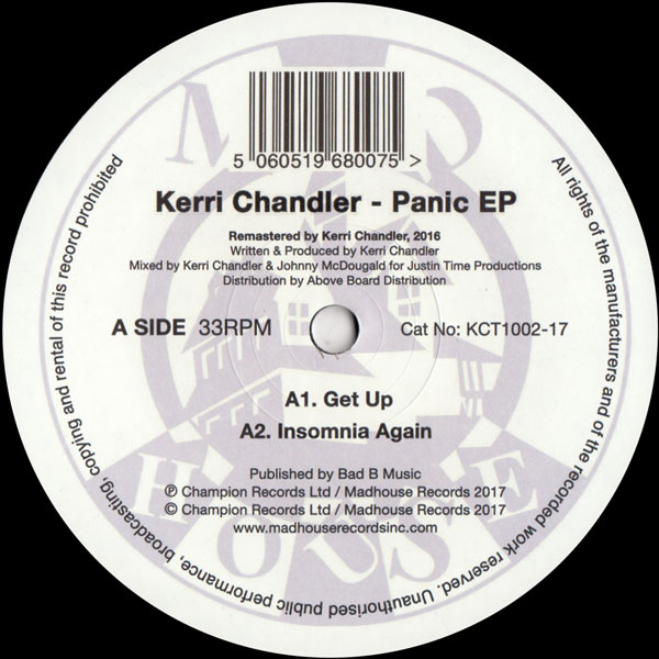 kerri-chandler-panic-ep-madhouse-records-cover
