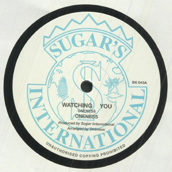 oneness-watching-you-ep-backatcha-records-cover