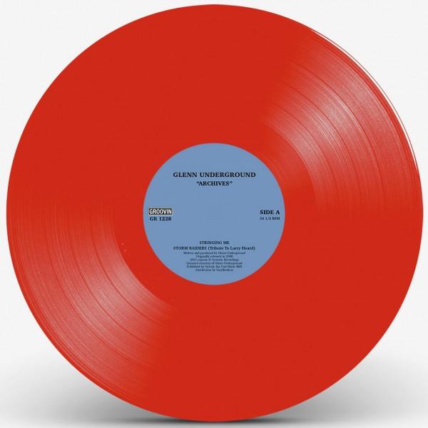 glenn-underground-archives-red-vinyl-groovin-recordings-cover