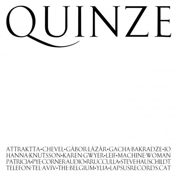 various-artists-quinze-lp-lapsus-records-cover