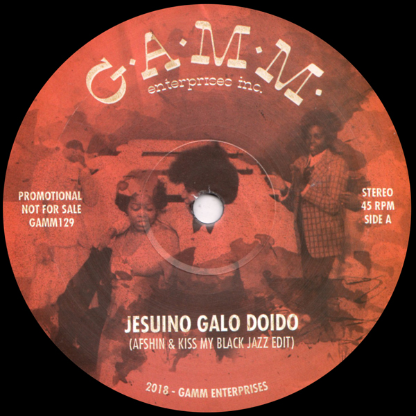 afshin-and-kiss-my-black-jazz-jesuino-galo-doido-make-it-ready-gamm-records-cover