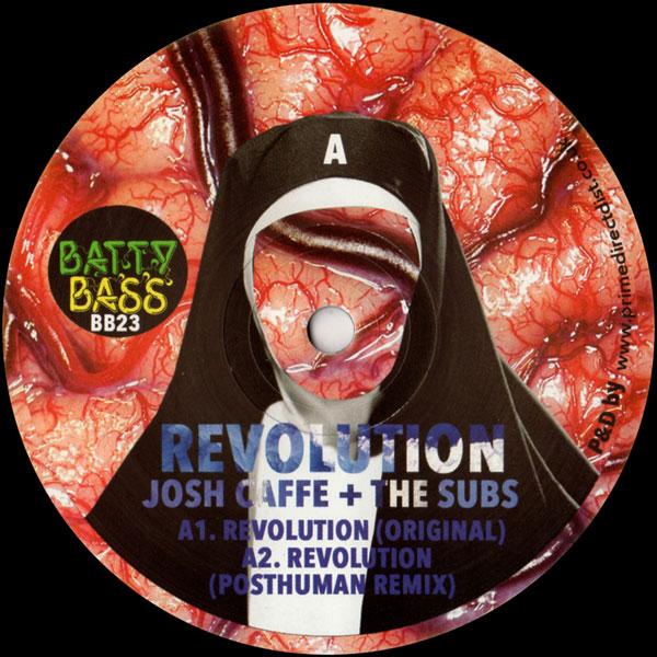 josh-caffe-the-subs-revolution-posthuman-aerea-negrot-remixes-batty-bass-records-cover