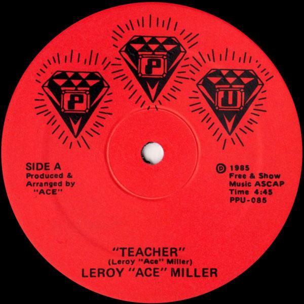 leroy-ace-miller-teacher-the-teacher-ppu-records-cover