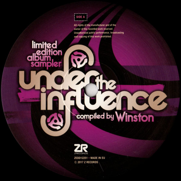 Under The Influence Vol 6 compiled by Winston - Album Sampler