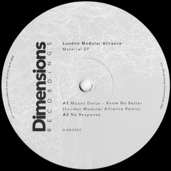 london-modular-alliance-material-ep-dimensions-recordings-cover