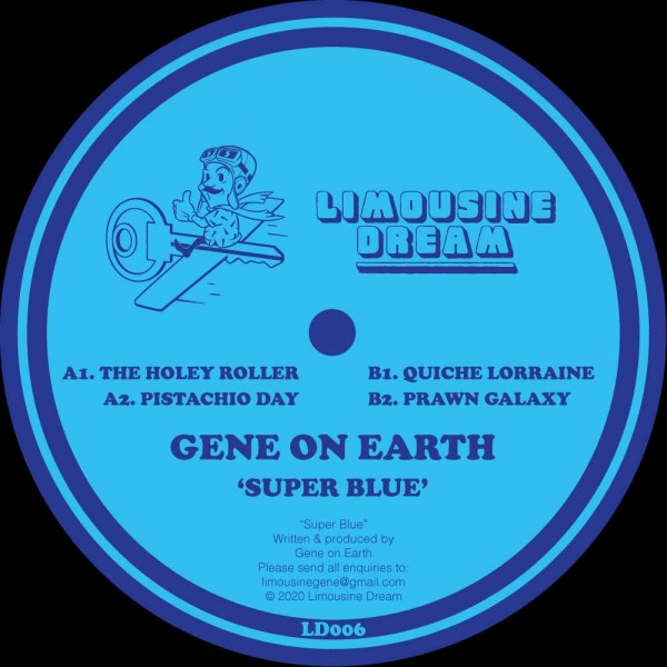 gene-on-earth-super-blue-ep-limousine-dream-cover