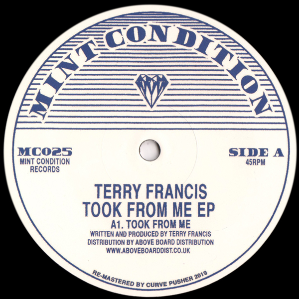 terry-francis-took-from-me-mint-condition-cover