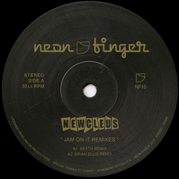 newcleus-jam-on-it-remixes-neon-finger-cover