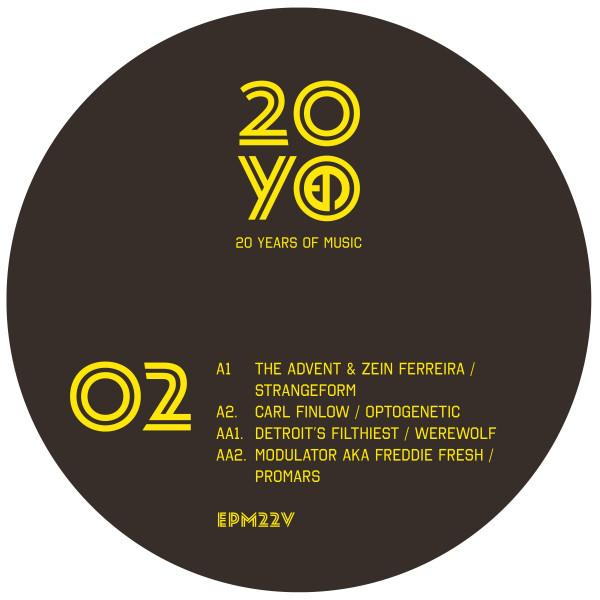 the-advent-zein-ferreira-carl-finlow-detroits-filthiest-modulator-freddie-fresh-epm20-ep2-epmmusic-cover
