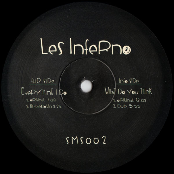 les-inferno-everything-i-do-samosa-records-cover