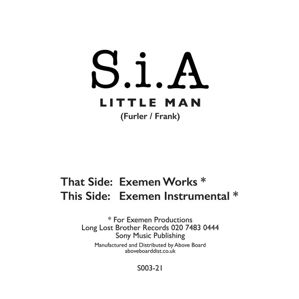 sia-little-man-exemen-wookie-works-long-lost-brother-records-cover