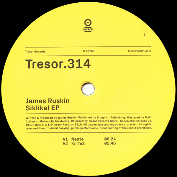 james-ruskin-siklikal-ep-tresor-cover