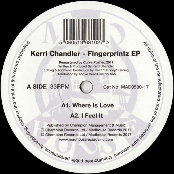 kerri-chandler-fingerprintz-ep-madhouse-records-cover