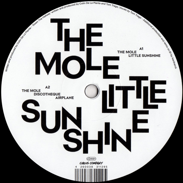 the-mole-little-sunshine-ep-circus-company-cover