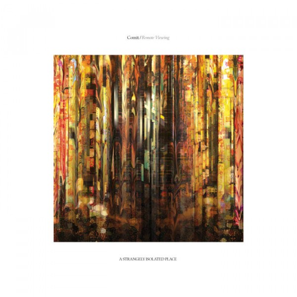 comit-remote-viewing-lp-limited-edition-transparent-orange-vinyl-a-strangely-isolated-place-cover