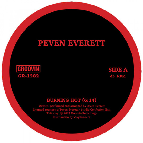 peven-everett-burning-hot-ep-pre-order-groovin-recordings-cover
