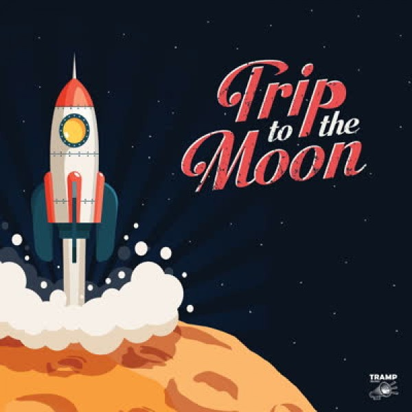 Trip to the Moon - 11 Obscure R&B, Garage Rock and Deepfunk Songs About the  Moon LP