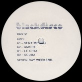 abel-seven-day-weekend-blackdisco-cover
