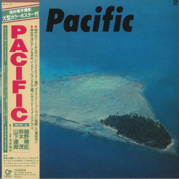 haruomi-hosono-shigeru-suzuki-tatsuro-yamashita-pacific-lp-great-tracks-sony-japan-cover
