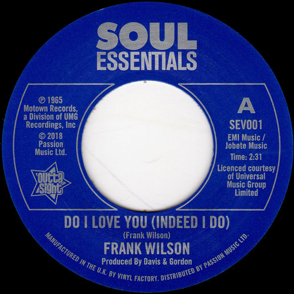 frank-wilson-do-i-love-you-indeed-i-do-sweeter-as-the-days-go-by-outta-sight-cover