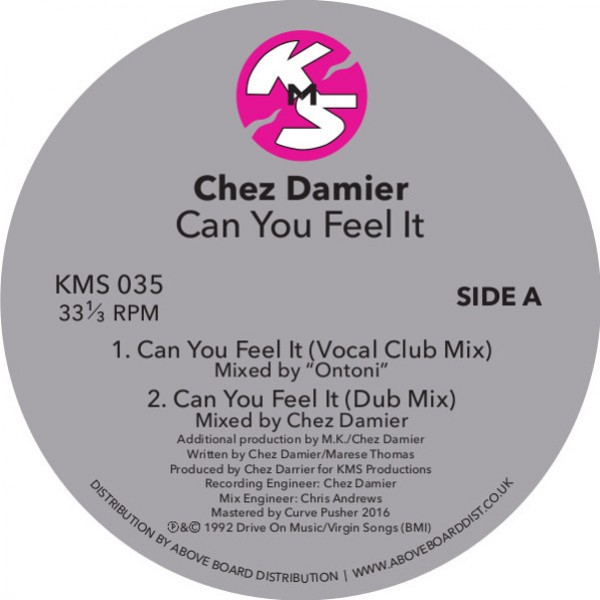 chez-damier-can-u-feel-it-clear-vinyl-repress-pre-order-kms-cover