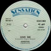 sensitive-give-me-dont-stop-la-discoteca-cover