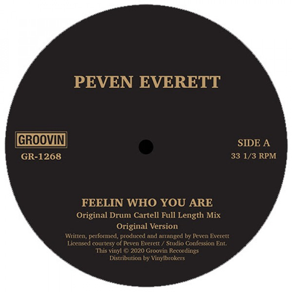 peven-everett-feelin-who-you-are-groovin-recordings-cover