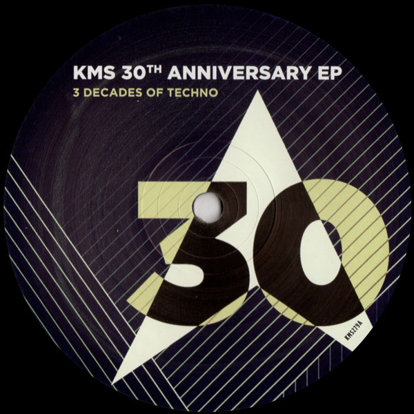 kink-kevin-saunderson-dubfire-marc-houle-kms-30th-anniversary-ep-kms-records-cover