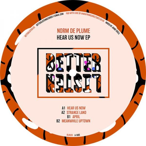norm-de-plume-hear-us-now-ep-better-listen-records-cover