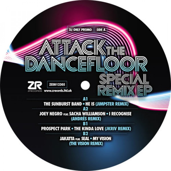 dave-lee-andres-the-sunburst-band-various-artists-attack-the-dancefloor-special-remix-ep-z-records-cover