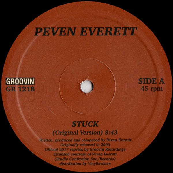 peven-everett-stuck-used-vinyl-vg-nm-sleeve-generic-groovin-recordings-cover