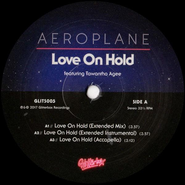 f36b021a AEROPLANE/Love On Hold feat. Tawatha Age (inc. Dimitri From Paris Re ...